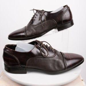 Carlo Pazolini Mens Cap Toe Dress Shoes Sz 8 Eu 41